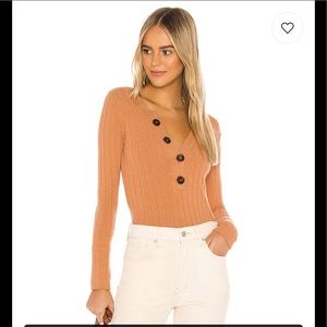 NWT Oliver Henley in Terracotta Free People